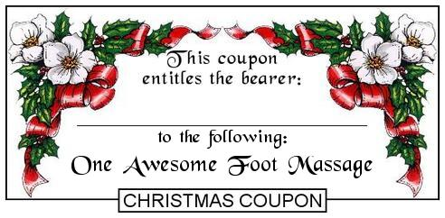 Doc585315 Christmas Voucher Templates Free Christmas Gift – Christmas Coupons Template