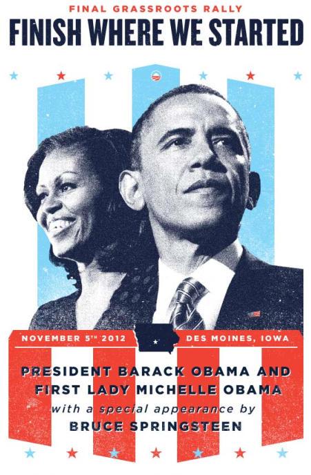 The Barrack Obama Campaign?
