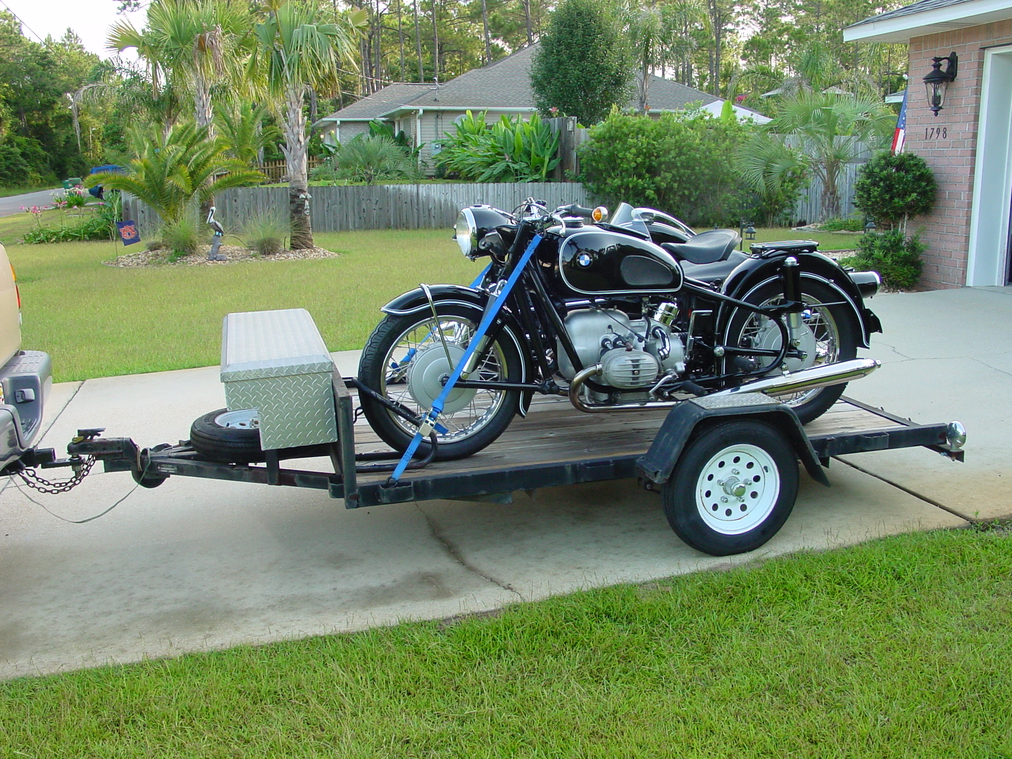 1968 bmw r60 2 with steib s500 luxus