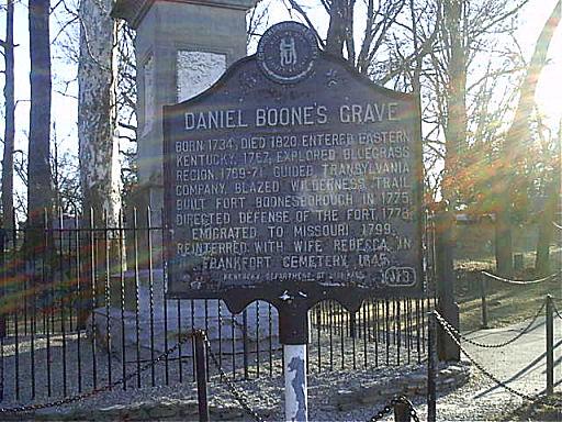 Daniel Boone Marker