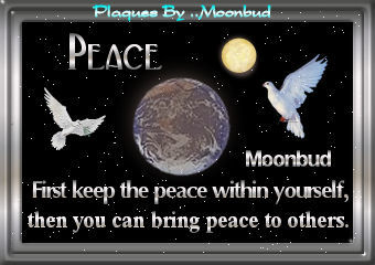 Peace Plaque