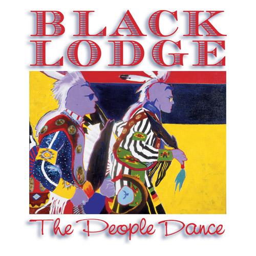 PEOPLE DANCE BY BLACK LODGE SINGERS