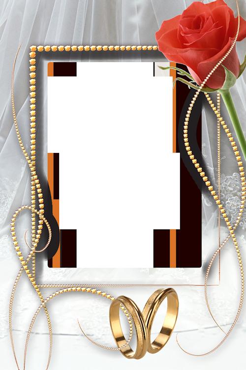 Рамка для свадебной открытки с 367